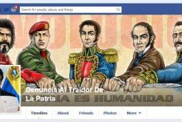 """Este era el """"muro"""" en facebook de la página que delataba a presuntos seguidores de Capriles."""