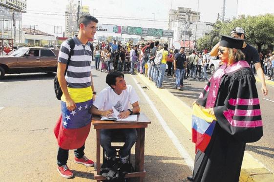 Manifestaciones Estudiantiles Venezuela Awareness Foundation