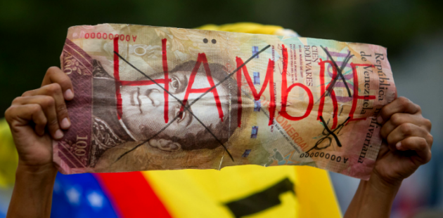 Los controles de precio, de cambio y de producción en Venezuela, han llevado a la población a situaciones críticas de desabastecimiento de productos básicos. (Camarón Informativo)