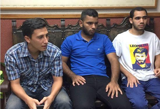Los cinco estudiantes de Voluntad Popular cuentan con una libertad bajo medidas cautelares