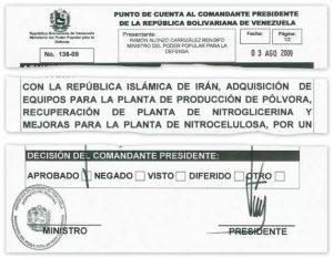 Chávez incumplió las sanciones impuestas a Irán por parte de la ONU (Veja)